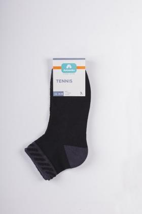 Носки спортивные Tennis AWS-0005  41-44 черн/сер  Artsocks