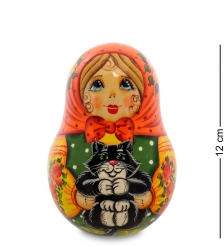 МР-24/43 Неваляшка  Анастасия с котом