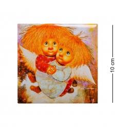 ANG-302 Магнит Ангелы теплых чувств 10х10