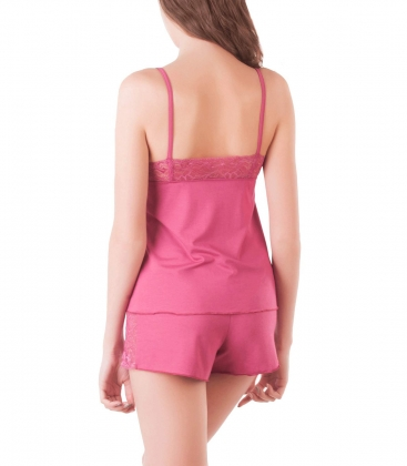 Пижама женская 5661, р.092, рост 170, марсала  Serge