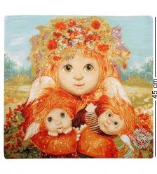 ANG-318 Наволочка гобеленовая  Материнская любовь  45х45