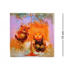 ANG-327 Магнит «Знак зодиака - Весы» 10х10