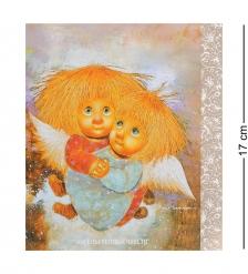 ANG-336 Открытка  Ангелы теплых чувств  15х17