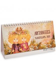 ANG-357 Календарь перекидной настольный 13х21