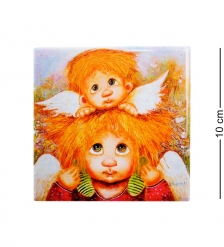 ANG-361 Магнит  Ангелы семейной любви  10х10