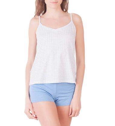 Пижама женская 5684/2, р.092, рост 170, белый с рис.  Serge