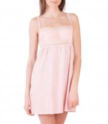 Сорочка ночная женская 8080/7, р.092, рост 170, розовый с рис.  Serge
