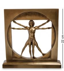 WS-70/ 1 Статуэтка  Витрувианский человек   Леонардо да Винчи