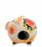 ГЛ-461 Фигурка  Свинка   цв.  Гжельский фарфор