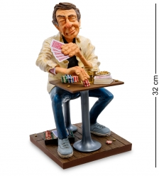 FO-85545 Статуэтка Мистер Покерфейс  Mr. Poker Face. Forchino