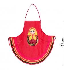 ТК-244 Фартук Матрешка детский  красный