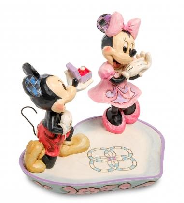 Disney-4055436 Фигурка  Микки и Минни с кольцом   Волшебный момент