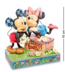 Disney-6000970 Фигурка  Микки и Минни  Будка поцелуев