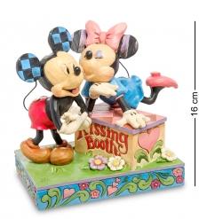 Disney-6000970 Фигурка «Микки и Минни  Будка поцелуев »