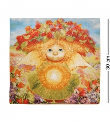 ANG-392 Наволочка гобеленовая «Солнечный Ангел» 30х30