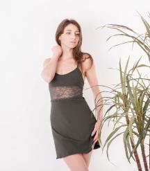 Сорочка ночная женская 8643, р.084, рост 170, хаки  Serge