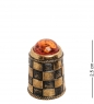AM-2160 Наперсток  Шахматы   латунь, янтарь