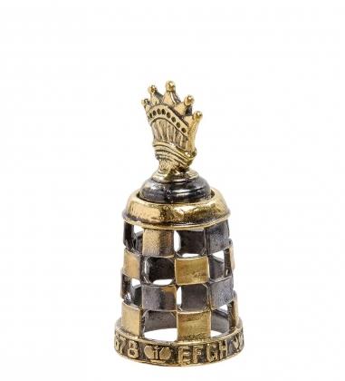 AM-2166 Наперсток  Шахматы Ферзь   латунь