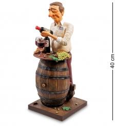 FO-85547 Статуэтка Коллекционер вина  The Wine Lover. Forchino