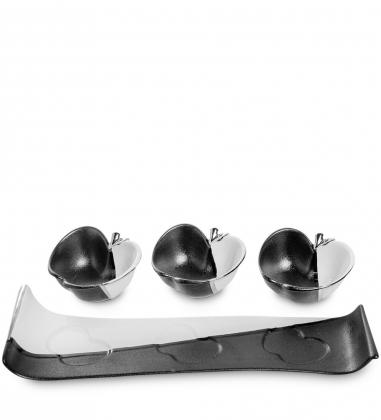 OS-120 Трио декоративных вазочек Коллекция Яблоко