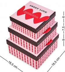WG-15 Набор коробок из 3шт - Вариант A
