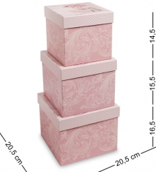 WG-62 Набор коробок из 3шт - Вариант A