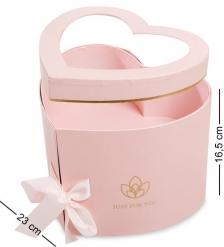 WG-96 Коробка подарочная  Сердце  - Вариант A