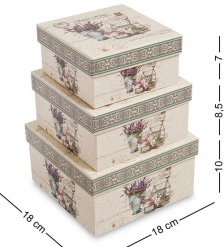 WG-103 Набор коробок из 3шт - Вариант A