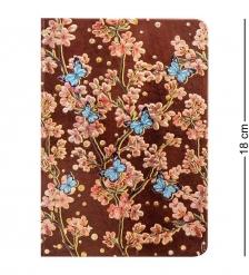 BM-06/2 Блокнот сред.  Весенние цветы   3D твердая обложка