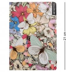BM-18/1 Блокнот бол.  Тропические бабочки   твердая обложка