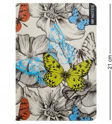 BM-18/3 Блокнот бол.  Тропические бабочки   твердая обложка