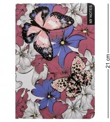 BM-18/4 Блокнот бол.  Тропические бабочки   твердая обложка