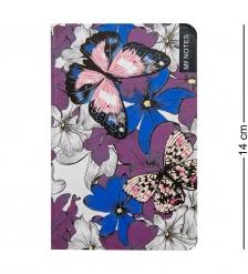 BM-19/1 Блокнот мал.  Тропические бабочки   твердая обложка
