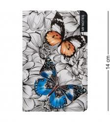 BM-19/3 Блокнот мал.  Тропические бабочки   твердая обложка