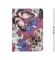 BM-20/1 Блокнот микро  Тропические бабочки   твердая обложка
