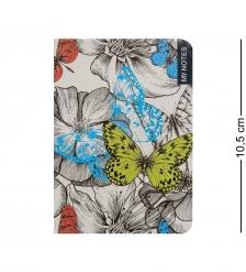 BM-20/3 Блокнот микро  Тропические бабочки   твердая обложка