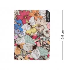 BM-20/4 Блокнот микро  Тропические бабочки   твердая обложка