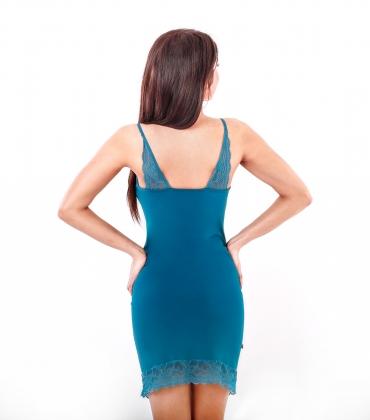 Сорочка ночная женская 8646, р.084, рост 170, изумрудный  Serge