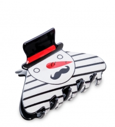 MR- 18 Заколка-краб для волос «Снеговик» Mark Rita