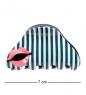 MR- 19 Заколка-краб для волос  Поцелуй  Mark Rita