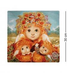ANG-418 Наволочка гобеленовая «Материнская любовь» 30х30