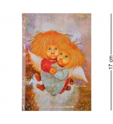 ANG-420 Блокнот  Ангелы теплых чувств  12х17