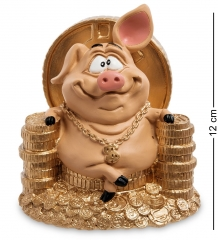 RV-614 Статуэтка Свинка  Желаю богатства