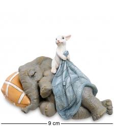 ED-430 Фигурка  Слоненок и зайчонок
