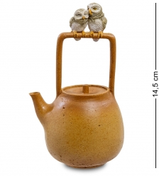 ED-441 Фигурка  Пара сов на чайнике