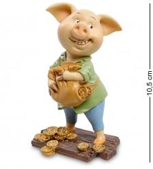 ED-456 Фигурка Свинья  Удача в твоих руках