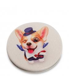 WW-119/1 Зеркало круглое  Милая собачка