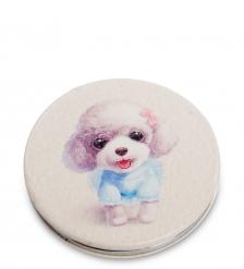 WW-119/4 Зеркало круглое  Милая собачка