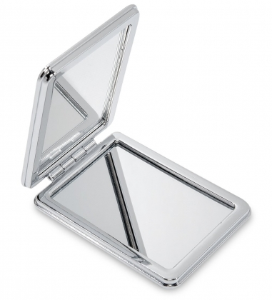 WW-126/2 Зеркало метал прямоугольное Милые зверюшки