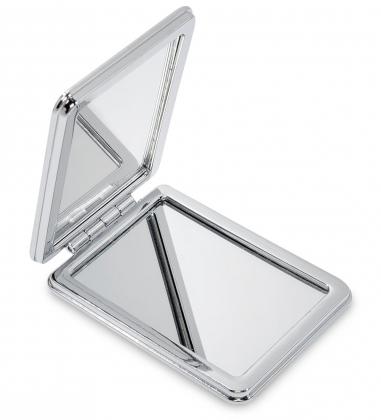 WW-128/1 Зеркало метал прямоугольное Ласковая кошечка
